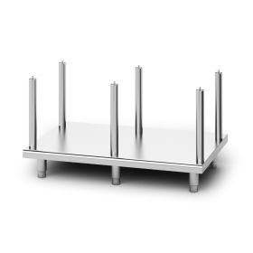 Lincat OA8952 - Opus 800 Free-standing Floor Stand with Legs - for units W 1200 mm