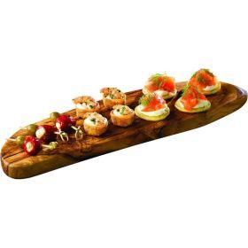Olive Wood Rustic Platter 45 X 13cm+/- - Genware