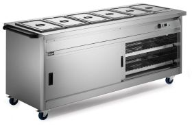 Lincat P8B6 Panther 800 Series - Hot Cupboard with Bain Marie Top