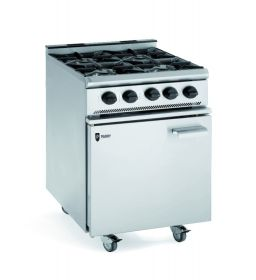 Parry 4 Burner Gas Oven Range GB4 - LPG Gas