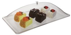 Polycarbonate Rect Tray For Food Display 53cm x 32.5cm 1/1 GN size