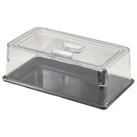 Polycarbonate 1/3 GN Food Cover - Genware PCGN13