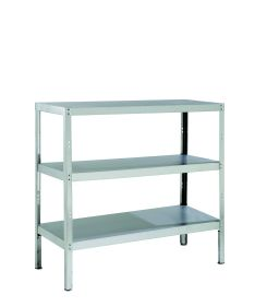 Parry Storage Racks with 3 Shelves - 600 D x 1200 H - Width Options