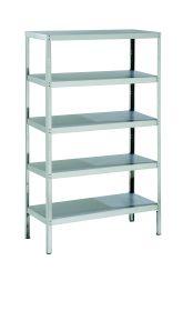 Parry Storage Racks with 5 Shelves - 500 D x 1800 H - Width Options