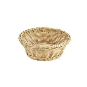 Round Polywicker Basket 21Ø x 8cm - Genware