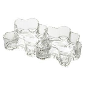 Glass Puzzle Bowl 360ml