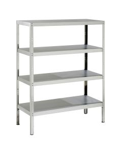 Parry Storage Racks with 4 Shelves - 400 D x 1500 H - Width Options