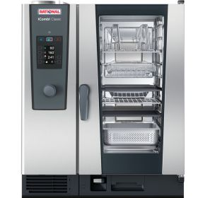 Rational iCombi Classic 10-1/1/G/P 10 Grid 1/1GN Natural Gas Combination Oven