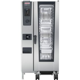 Rational iCombi Classic 20-1/1/G/N 20 Grid 1/1GN Natural Gas Combination Oven