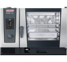 Rational iCombi Classic 6-2/1/G/N 6 Grid 2/1GN Natural Gas Combination Oven