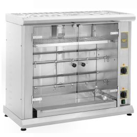 Roller Grill RBE80Q Two Spit Electric Rotisserie