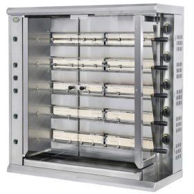 Roller Grill RBG30 Five Spit Extra Large Gas Rotisserie