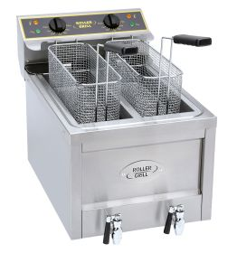Roller Grill RFE8D Double 8L Counter Top