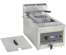 Roller Grill RFG12 Single 12L Counter Top Deep Fat Fryer - LPG Gas