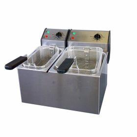 Roller Grill 2 in 1 Fryer - FD50 + FD80 (Single 5L + Single 8L)