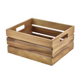 Acacia Wood Box/Riser GN 1/2 - Genware