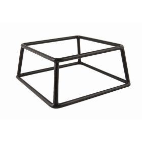 Genware Black Anti-Slip Buffet Riser 18 x 8cm