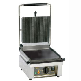 Roller Grill SAVOYE L Single - Ribbed Top & Flat Base Plates