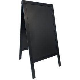 Sandwich A-Board 70X120cm Black - Genware