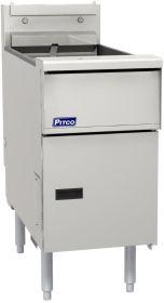 Pitco Solstice SE14S-SSTC Single Tank Electric Fryer