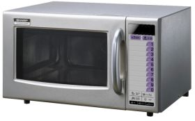Sharp R21AT - 1000W Commercial Microwave