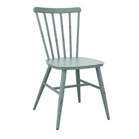 SPIN Light Blue Rustic/Retro Chair - Indoor & Outdoor – ZA.671C