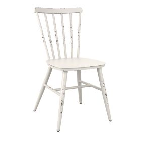 SPIN White Rustic/Retro Chair - Indoor & Outdoor – ZA.669C