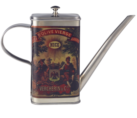 Italian Design Oil Can Stainless Steel  50cl/17.5oz