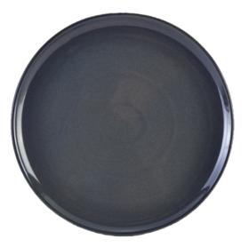 Terra Stoneware Rustic Blue Pizza Plate 33.5cm