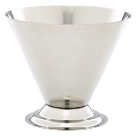 Stainless Steel Conical Sundae Cup - Genware