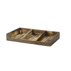 Rustic Wooden Display Crate - Genware