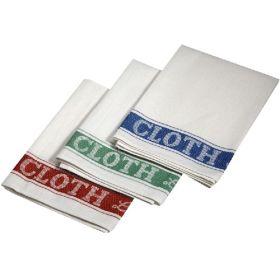 Linen Union Glass Cloth 51X76cm 5Pcs Mix Clrs