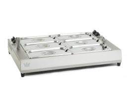 King Edward Vista VBM-2 - Large Bain Marie 2 x 1/1GN Stainless Steel