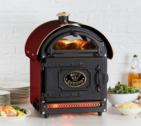 King Edward PB1FV/CLA Potato Baker Oven - Traditional Claret F455-CL