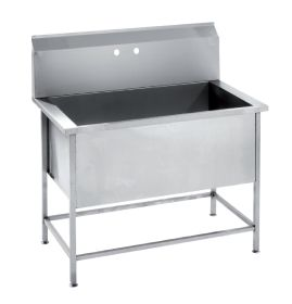 Parry USINK1200 Stainless Steel Utility / Healthcare Sink 1200mm W