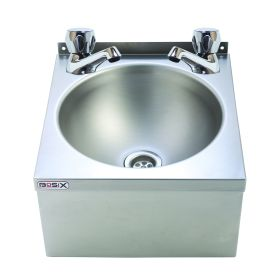BaSix WS3-D Hand Wash Station with DOME Taps - WRAS Approved