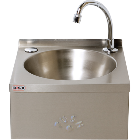 BaSix WS3-KVS Hand Wash Station Push-Front - Hands-Free