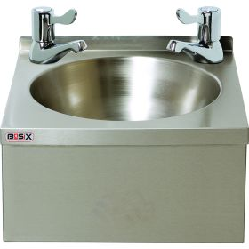 BaSix WS3-L Hand Wash Station With 3-inch LEVER taps