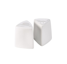 Royal Genware Triangular Pepper Pot 6cm - P303106