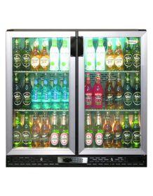 Infrico ZXS2 - Bottle Cooler Double Door Stainless Steel
