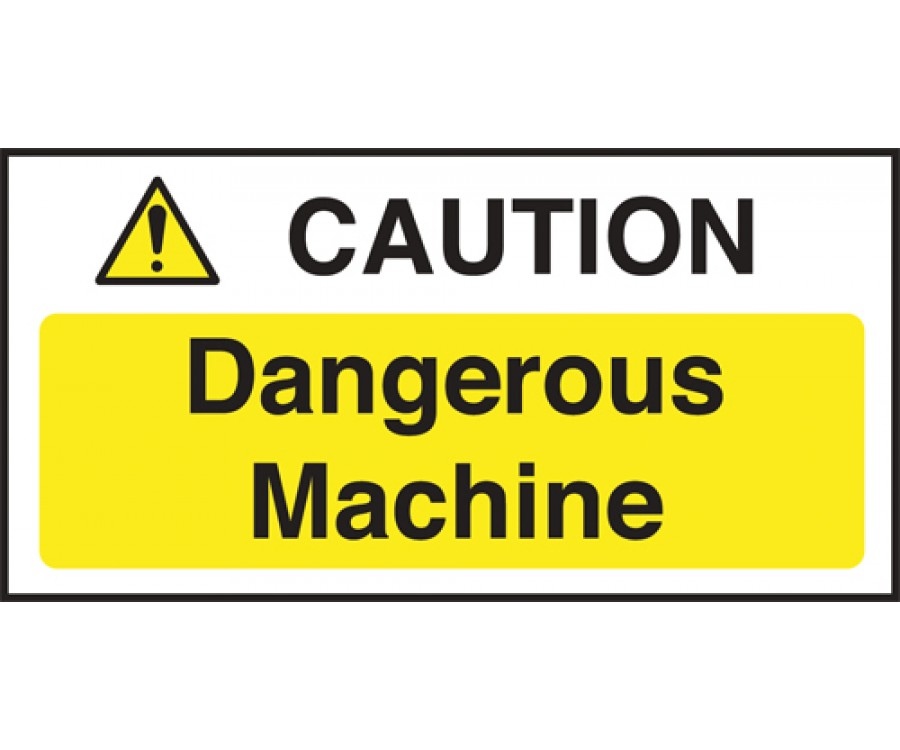 Appliance Safety Signs