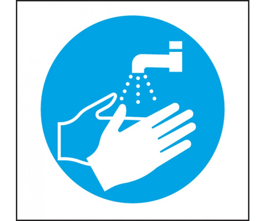 Wash Hand Signs