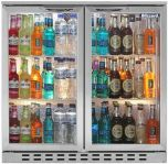 Blizzard BAR2SS - Bottle Cooler Double Door Stainless Steel