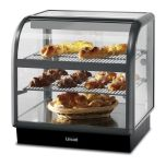 Lincat C6A/75B Seal 650 - Curved Ambient Display Merchandiser - Back Service