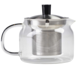 Glass Teapot with Infuser 47cl/16.5oz - Genware