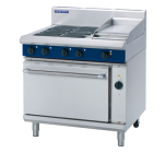 Blue Seal E56C - Electric Range with Convection Oven & 300mm Griddle W900 mm