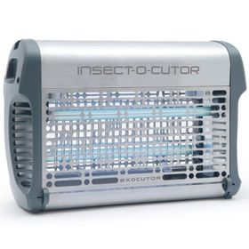 Exocutor 16 EX16S - Stainless Steel, 16W, 40m2 - Electric Fly Killer