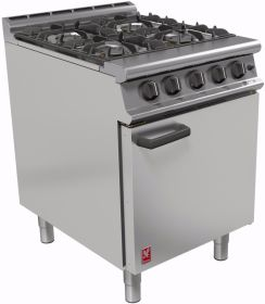 Falcon G3161 - Gas 4 Burner Range Oven