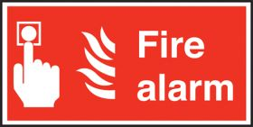 Fire alarm. 100x200mm F/P
