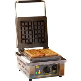 Roller Grill GES10 Single Brussels Waffle Iron